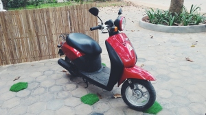 Zoe's motorbike